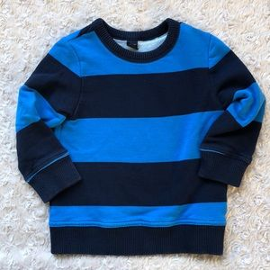 GAP Baby Boys Striped Sweatshirt